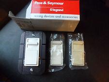 Pass & Seymour Dimmer Single Pole 3 way Ivory, Light Almond, White 1000W