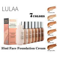 35ml LULAA Matte Foundation Oil Control Concealer Liquid Foundation Makeup Women