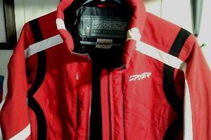 Spyder XT Ladies Sz S/M Ski/Snowboard Waterproof Jacket Coat Red/Black/White