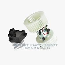 AC Heater Blower Motor + Resistor (To 2/28/2000) BMW E39 528i 540i 493/204 New