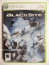 jeu BLACKSITE sur xbox 360 en francais game spiel juego gioco action complet TBE