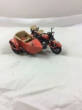 HARLEY DAVIDSON DIE CAST MOTORCYCLE WITH SIDECAR BANK