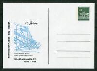 Bund Privat GA Karte Brandenburger Tor 20 Pfg. Kaiser Wilhelm Brücke Ganzsache