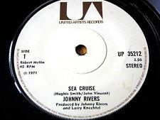 "JOHNNY RIVERS - SEA CRUISE  7"" VINYL"