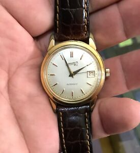 EBERHARD cal.11501(felsa base) automatic watch working condition,serviced
