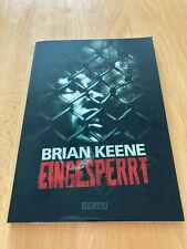 Buch Eingesperrt von Brian Keene in sehr gutem Zustand
