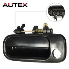 77619 Exterior Door Handle Front Driver LH Side Black for Toyota Camry 1992-1996