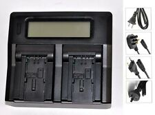 New Dual LCD Battery Charger For BP-727 BP709 BP719 BP745 HF M506 M52 M56 M60