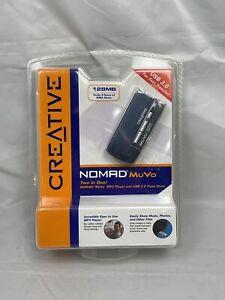 Creative Nomad MuVo ( 128 MB ) Digital Media Player - New in Sealed pkg