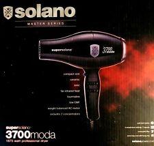 SUPERSOLANO MASTER SERIES CERAMIC IONIC 1875W  3700 MODA HAIR DRYER  ITALY MADE
