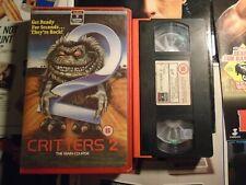 CRITTERS 2 - RCA/COLUMBIA - VHS - BIG BOX - EX RENTAL