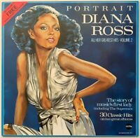DIANA ROSS PORTRAIT ALL HER GREATEST HITS VOL. 2 LP NEAR MINT PRO CLEANED