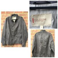 M & S Collezione Men's Suede Like Jacket Brown Size XL (726)