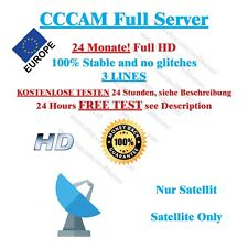 CCCAM Subscription 24 Months Dreambox vu + Best Price SAT