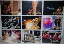 STAR TREK VOYAGER .SKYBOX 1995 X 72 set Series 1