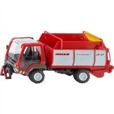 1:32 Siku Lindner Unitrac Truck With Forage Trailer - 132 3061 Farmer Scale