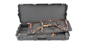 New SKB iSeries Parallel Limb Double Bow Hardshell Black Case Model # 3I-4217-DB
