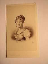 Paris - Marie-Louise von Österreich - zweite Ehefrau Napoleon I. / Kunstbild CDV