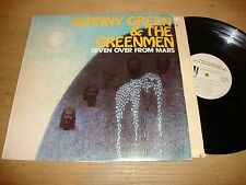 Johnny Green & The Greenmen - Seven Over From Mars - LP Record  VG VG