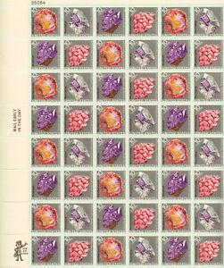 SCOTT #1538-41  MINERALS   10 CENT   SHEET   MNH