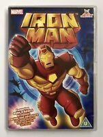 Iron Man - The Animated Series (DVD, 2008) Jetix, Marvel, Rare, Free UK Post, VG