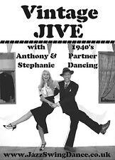 Vintage JIVE: How To Dance DVD (1940s, Rock n Roll, Lindy Hop, East Coast Swing)