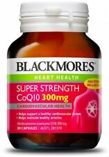BLACKMORES SUPER STRENGTH COQ10 300MG 30 CAPSULES COENZYME Q10 HEART HEALTH LDL