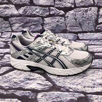 Asics Gel Strike 3 Women's White Blue Silver Running Shoes Size 10