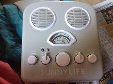 ipod mp3 player speaker system with am fm radio sunnylife