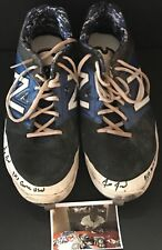 Anthony Alford Toronto Blue Jays Signed 2015 Game Used Cleats Spikes