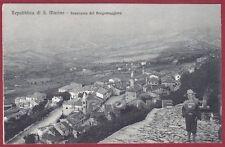 SAN MARINO 51 REPUBBLICA DI SAN MARINO - BORGO MAGGIORE Cartolina