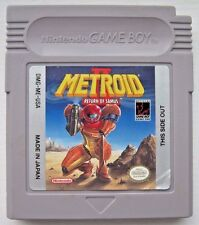 Metroid II: Return of Samus Nintendo Game Boy plays in Color Advance SP *Saves*