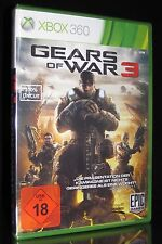 Xbox 360 Gears of War 3-Uncut-USK 18-la Action-blockbuster-ego-Shooter