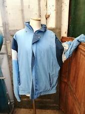 Vintage veste de ski de sport année 80 taille XL bleu clair streetwear sportwear