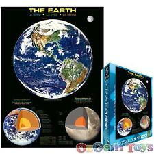 The Earth Eurographics Jigsaw Puzzle 1000 piece