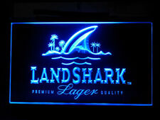 J555B Landshark Larger Beer For Pub Bar Display Decor Light Sign
