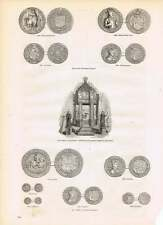 Engravings Gold Coins Of James I Silver Coins
