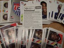 Panini Fußball WM 2006 Germany FIFA World Cup 4 Sticker Sammelbilder