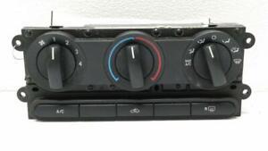 2005-2007 Ford 500 Mercury Montego Climate Control Module OEM 3F2H-19808-AH 2006