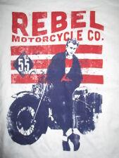 "JAMES DEAN ""REBEL MOTORCYCLE CO"" (LG) T-Shirt"