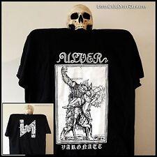 "Ulver officiel ""vargnatt"" Chemise Noire (taille S-XXL) [Agalloch, Arcturus]"