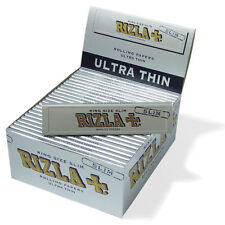 10 Broschüren Rizla Silber Kingsize Slim Zigarettenpapiere Günstigste bei Ebay.
