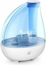 Ultrasonic Cool Mist Humidifier Portable Air Purifier with Whisper Quiet