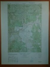 1947 Army Topographic map  Timber Oregon Sheet 1375 III