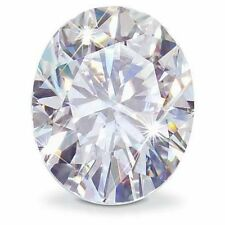 1.50CT Forever One Moissanite White Oval Loose Stone 8x6mm Charles & Colvard