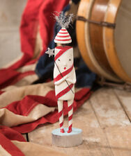 """Bethany Lowe """"Firecracker"""" Patriotic Figure by Michelle Lauritsen (ML9271)"""