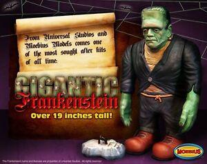 2010 Gigantic Frankenstein Big Frankie Moebius Models new in the box