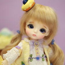 1/8 BJD Doll Girl Latidoll Yellow S.belle With Free Face Make up + free eyes