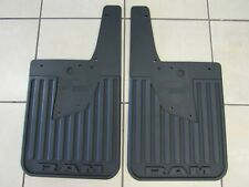 RAM 2500 3500 Rear Heavy Duty Splash Guards w/Fender Flares NEW OEM MOPAR