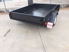 8x5 H/D Domestic Fixed Front Smooth Floor Trailer